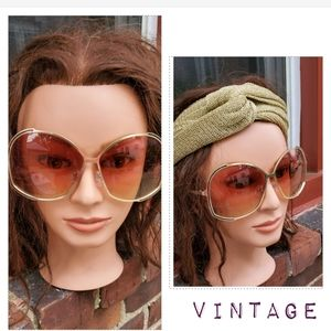 Vintage 1980's sunglasses  From the age big glasse